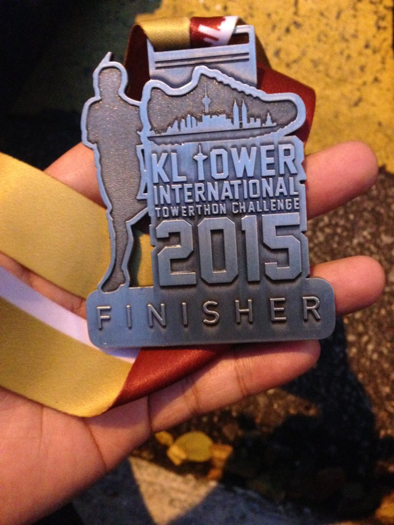 Finisher Medal.